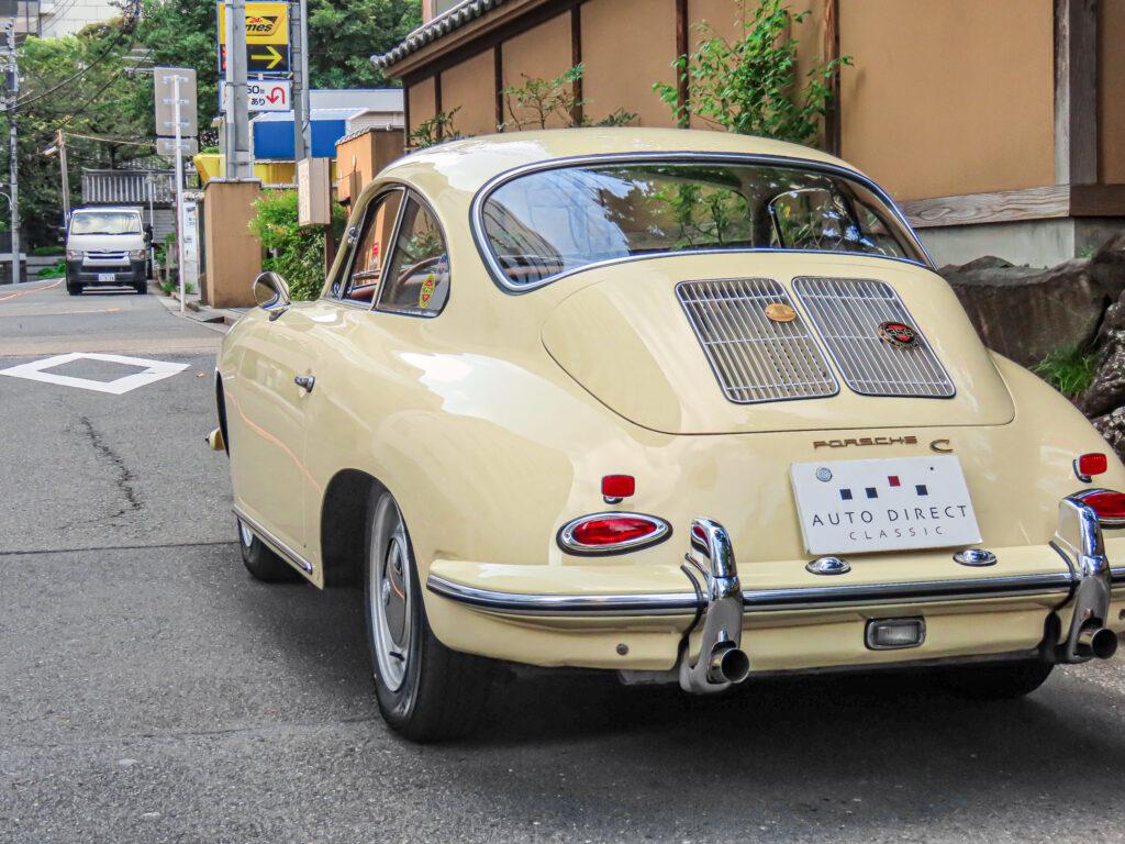 ポルシェ 356 C シャンパンイエロー_002